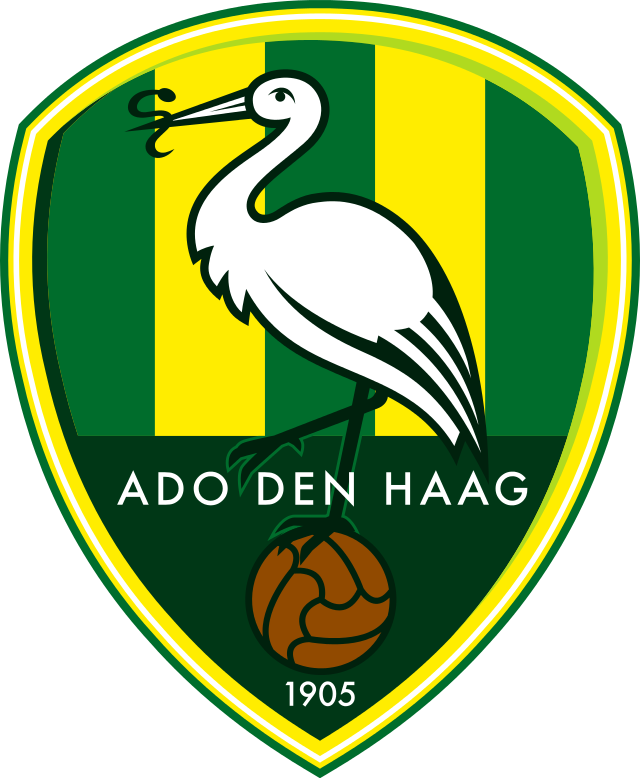 ADO Den Haag 0-Pres Primary Logo t shirt iron on transfers