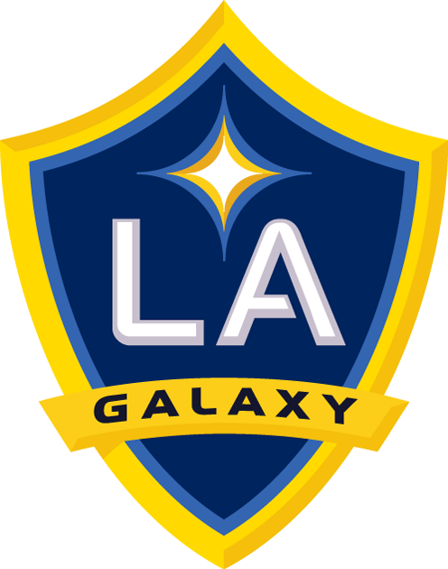 LA Galaxy iron ons