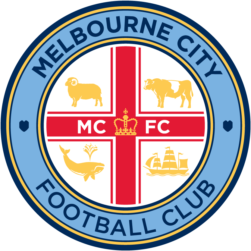 Melbourne City FC 2015-Pres Primary Logo t shirt iron on transfers