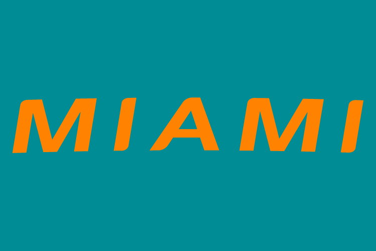 Miami Dolphins 2013-Pres Wordmark Logo t shirt iron on transfers