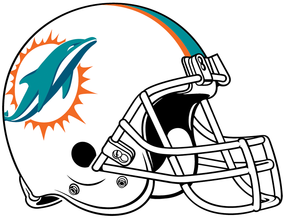 Miami Dolphins 2018-Pres Helmet Logo t shirt iron on transfers