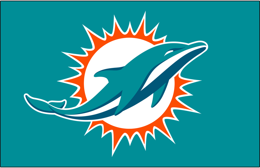 Miami Dolphins 2018-Pres Primary Dark Logo t shirt iron on transfers