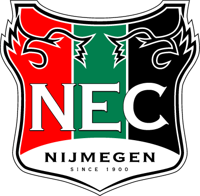 N.E.C. Nijmegen 0-Pres Primary Logo t shirt iron on transfers