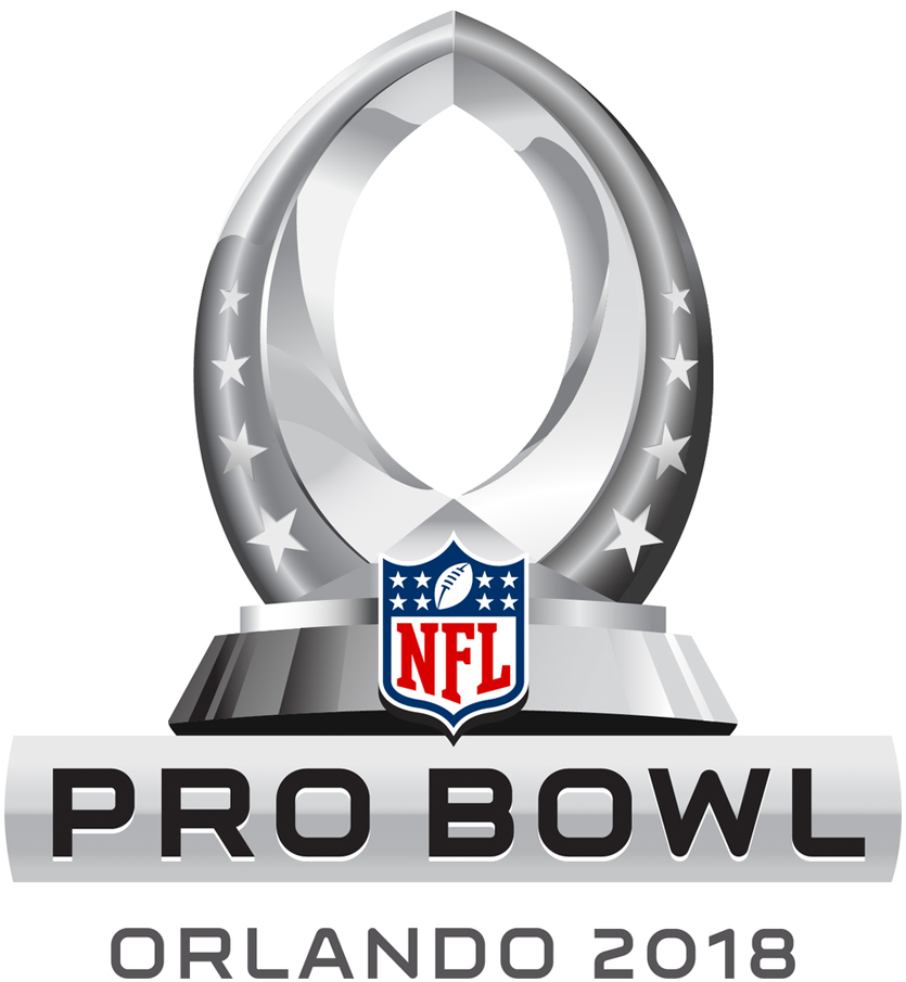 NFL Pro Bowl 2018 Primary Logo t shirt iron on transfers