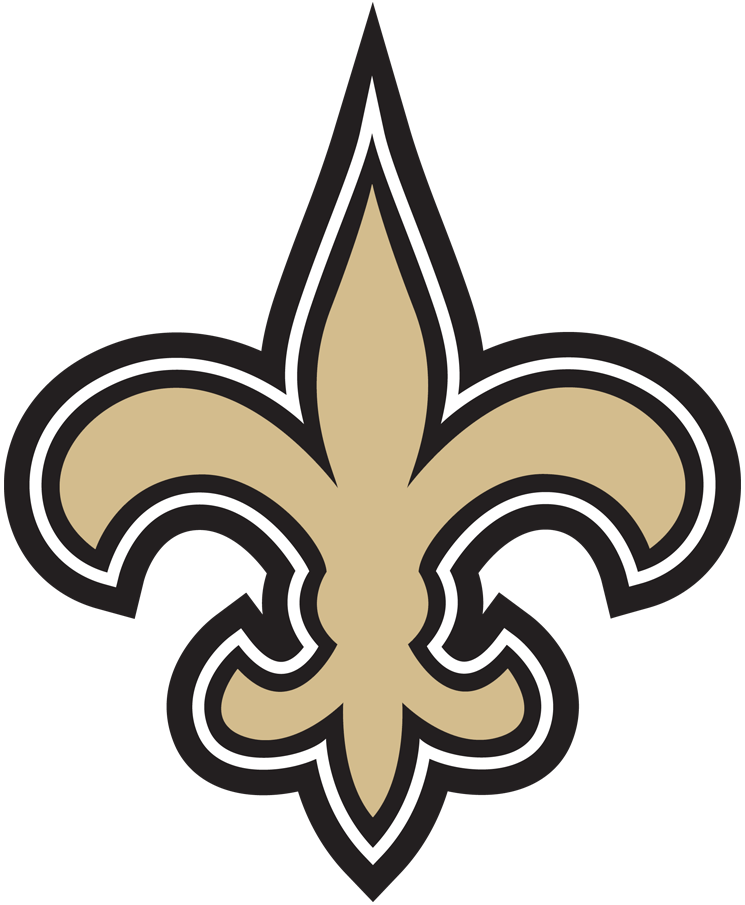 New Orleans Saints 2017-Pres Primary Logo t shirt iron on transfers...