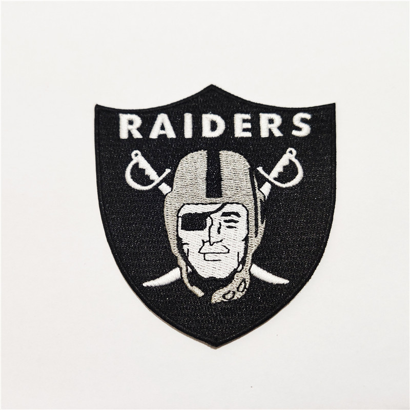 Oakland Raiders Logo Patch
