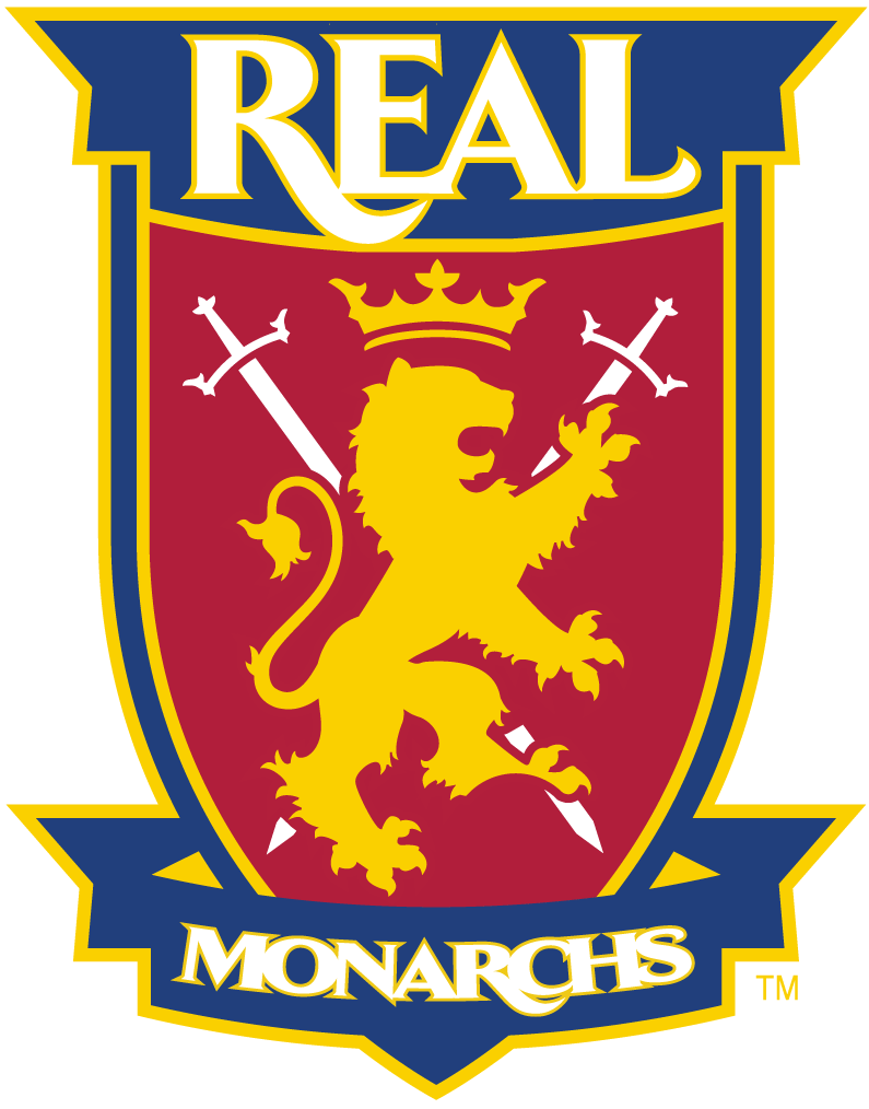 Real Monarchs SLC 2015-Pres Primary Logo t shirt iron on transfers