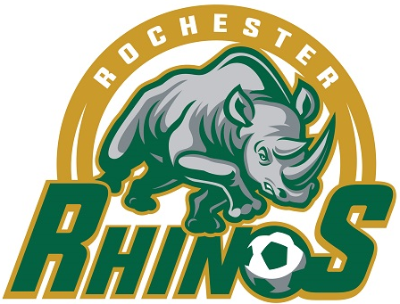Rochester Rhinos 2016-Pres Primary Logo t shirt iron on transfers