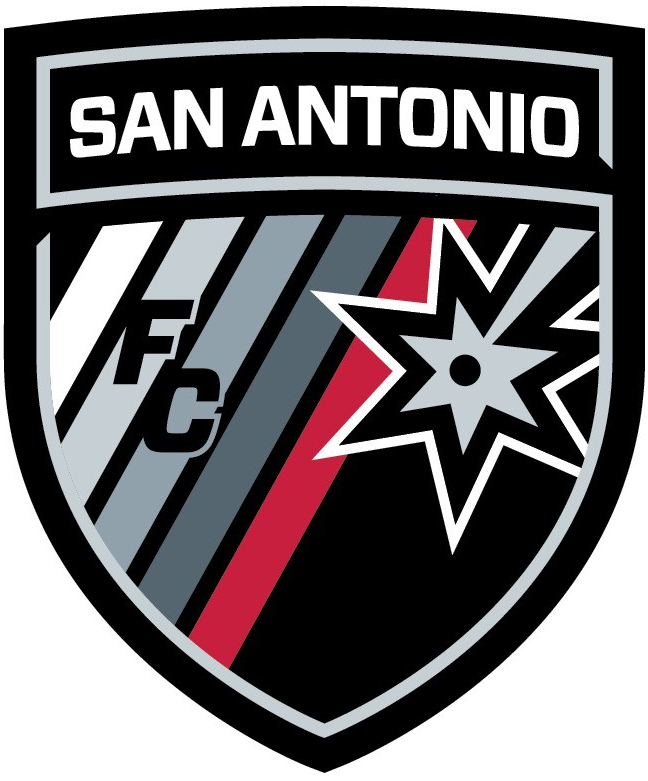 San Antonio FC 2016-Pres Primary Logo t shirt iron on transfers