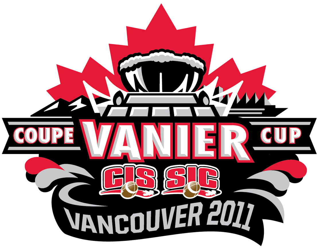 Vanier Cup 2011 Primary Logo t shirt iron on transfers