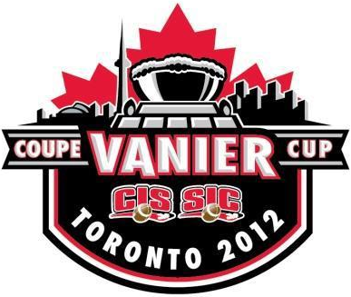 Vanier Cup 2012 Primary Logo t shirt iron on transfers