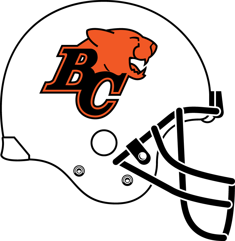 bc lions 2005-pres helmet logo t shirt iron on transfers
