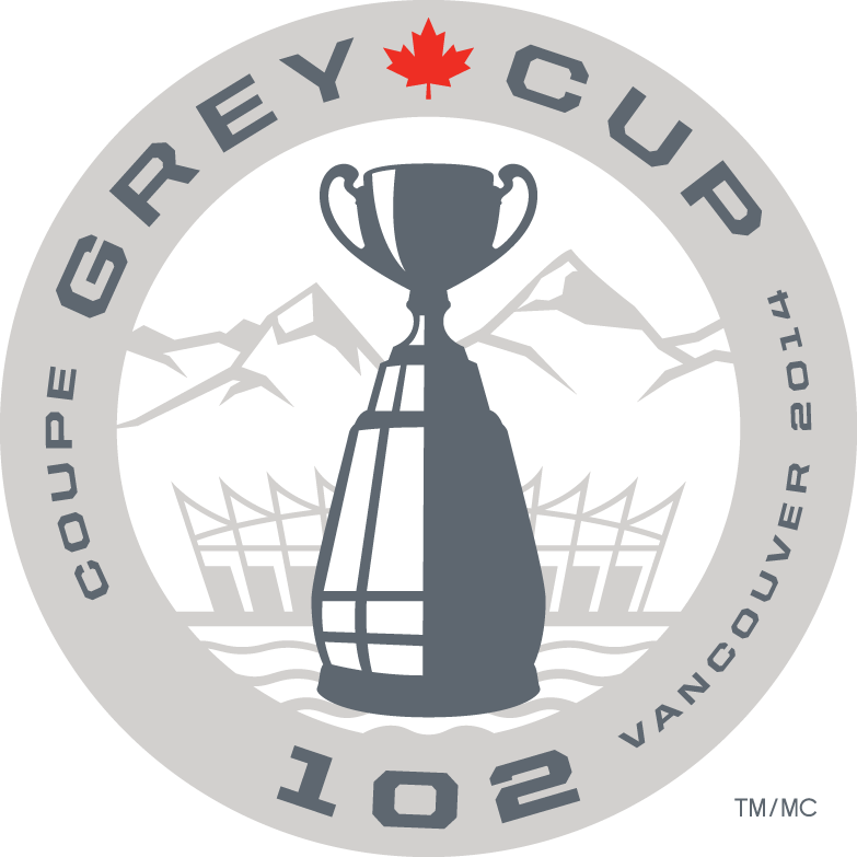 grey cup 2014 primary logo t shirt iron on transfers