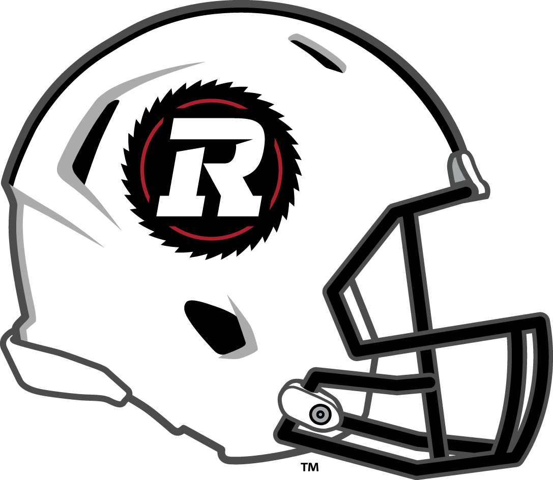 ottawa redblacks 2014-pres helmet logo v2 t shirt iron on transfers