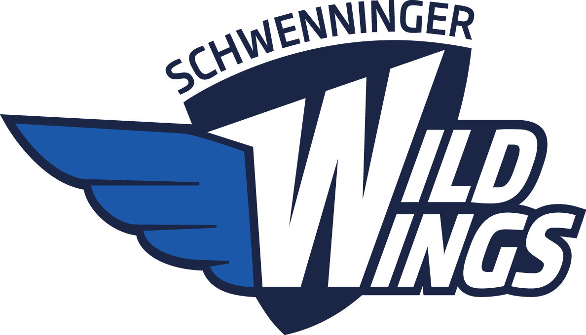 schwenninger wild wings 2013-pres primary logo t shirt iron on transfers